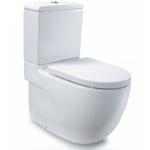 Roca N-Meridian 34124B 自由咀分體座廁配油壓廁板