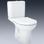 TOTO CW781B 12''地去水分體座廁配油壓廁板