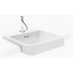 """Kohler K-98930X-1-0 FOREFRONT 18""""半崁式浴室面盆"""