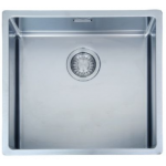 FRANKE BXX210-45 Box 不銹鋼 檯面/檯底 單昇盆 (銀色)