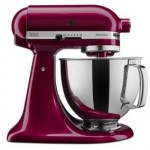 KitchenAid 5KSM150PSBBX Artisan®系列 4.8公升 座檯式自動攪拌器 (波爾多紅)