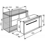 Baumatic BO906X 100公升 90厘米 嵌入式電焗爐
