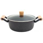 Imarflex 伊瑪 990062 24cm 麥飯石雙耳湯鍋 (4公升)