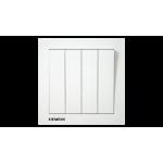 Siemens 西門子 5TA13433PC01 10AX 四位雙控開關掣 (白)