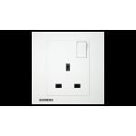 Siemens 西門子 5UB13123PC01 13A 單位開關插座(白)