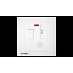 Siemens 西門子 5UB13523PC01 13A 雙極開關保險菲士接線蘇(帶霓虹燈指示器)(白)