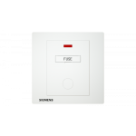 Siemens 西門子 5UB13533PC01 13A 雙極保險菲士接線蘇(帶霓虹燈指示器)(白)