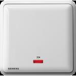 Siemens 西門子 5TA01613PC01 20A 單位雙極開關掣 帶霓虹燈指示器(白)