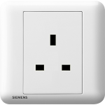 Siemens 西門子 5UB01113PC01 13A 單位插座(白)