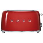 Smeg TSF02RDUK 4片式多士爐 (紅色)