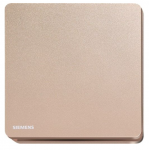 Siemens 西門子 5TA81123PC04 16AX 單位單控開關掣 (玫瑰金色)