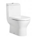 Roca 3496170CN+80NA12 Atis 自由咀連體座廁配歐樂油壓板套裝