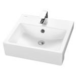 TOTO LW717RCB 半嵌式洗手盆