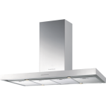 Kuppersbusch IKD12210.1GE 120cm Island Cooker Hood (Glass and Stainless Steel)