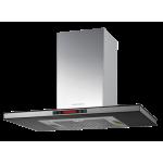 Kuppersbusch IKD9550.1GE 90cm Island Cookerhood (Glass and Stainless Steel)